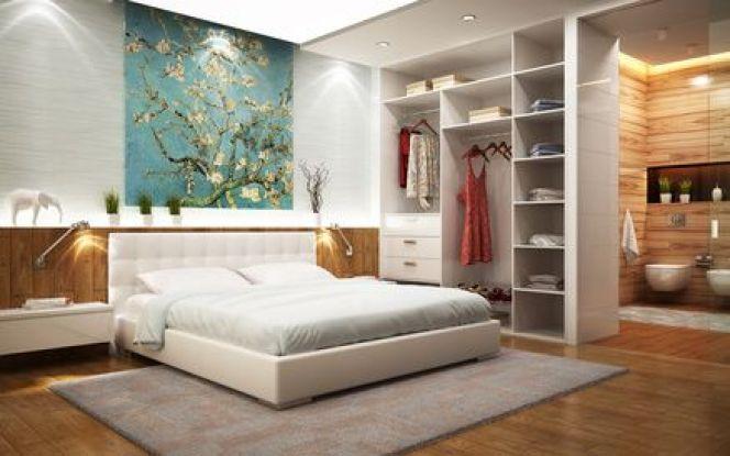 La salle de bain ouverte sur chambre : aménagements, agencements et déco