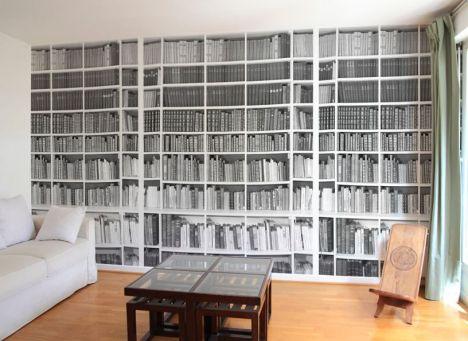 papier peint trompe l 39 oeil par ohmywall. Black Bedroom Furniture Sets. Home Design Ideas