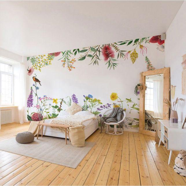 Une composition florale pour habiller la chambre