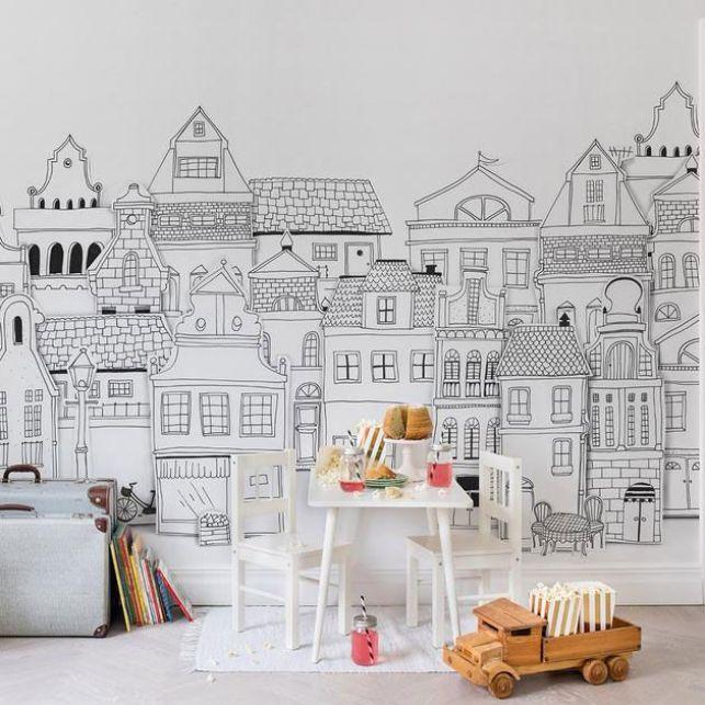 Un papier peint panoramique lodonien