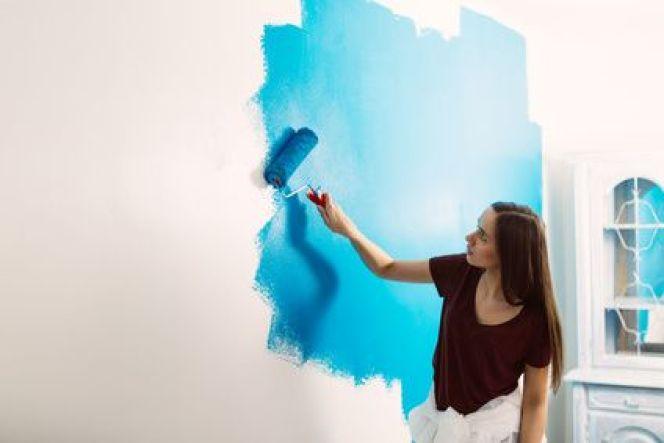 Peindre Sur Papier Peint : Comment, Quelle Peinture, Technique Home