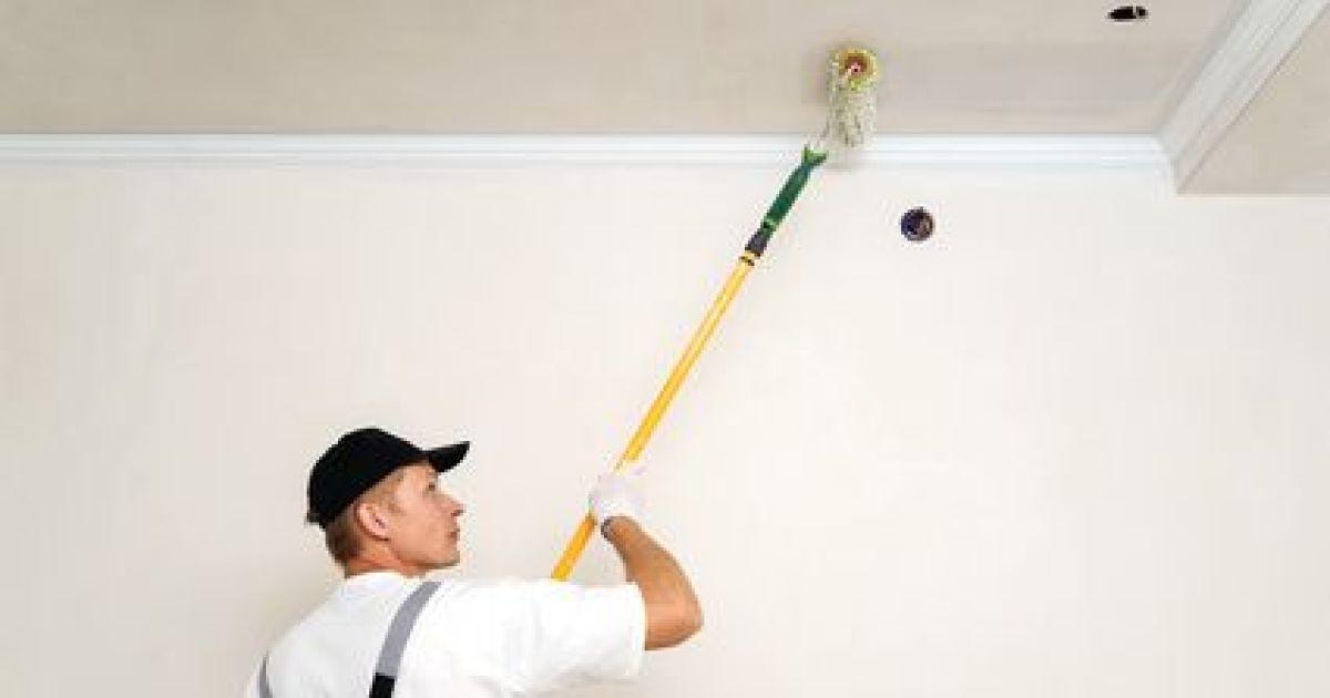 Peindre un plafond en couleur for Peindre un plafond