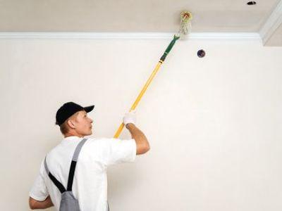 Peindre un plafond en couleur