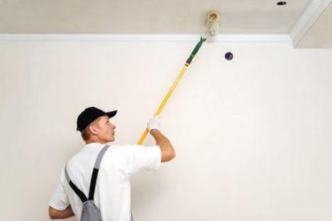 Peindre un plafond en couleur - Manche telescopique pour peindre ...