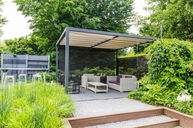Pergola bioclimatique en kit