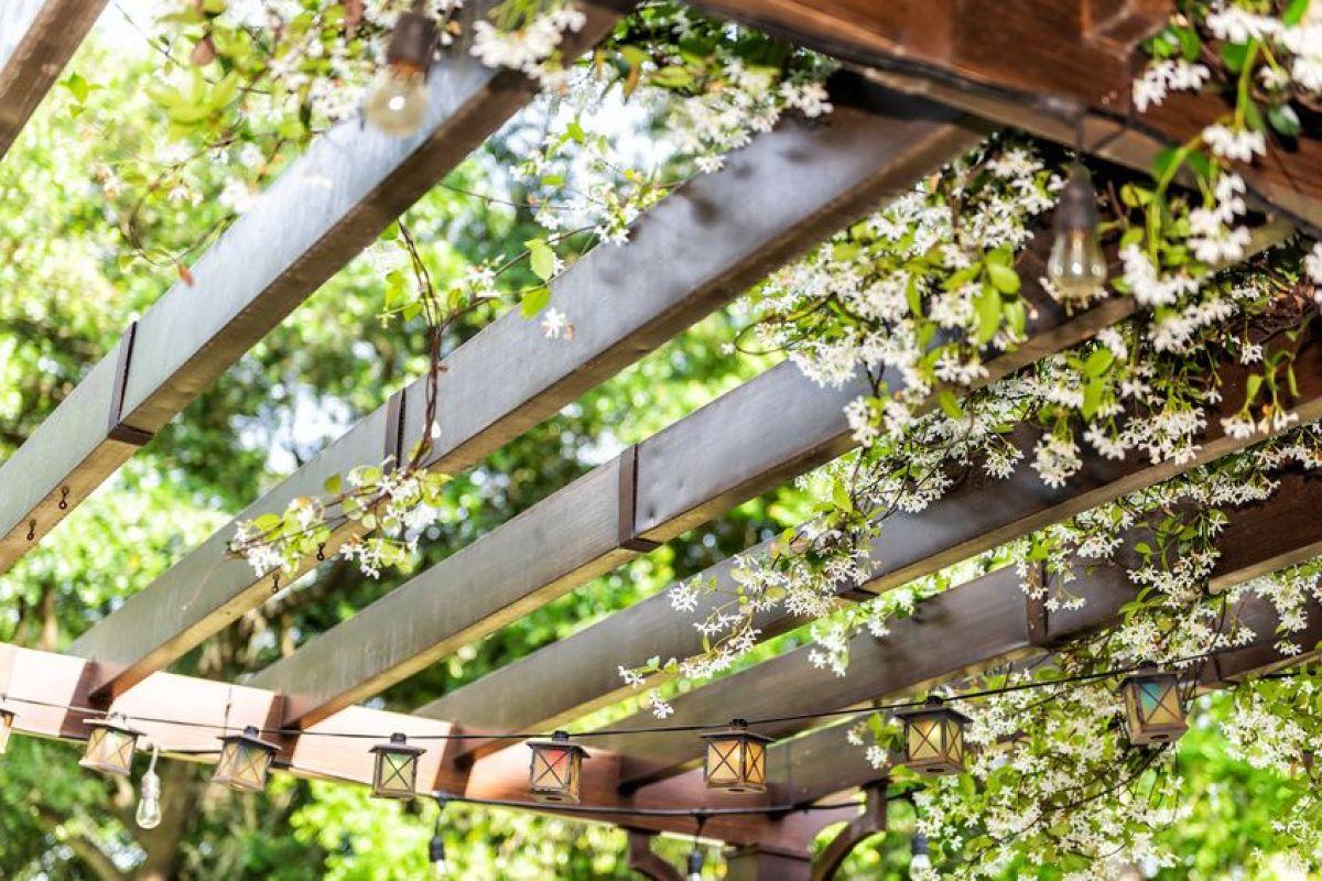 Grande Pergola Pas Cher pergolas de jardin : les différents types et matériaux