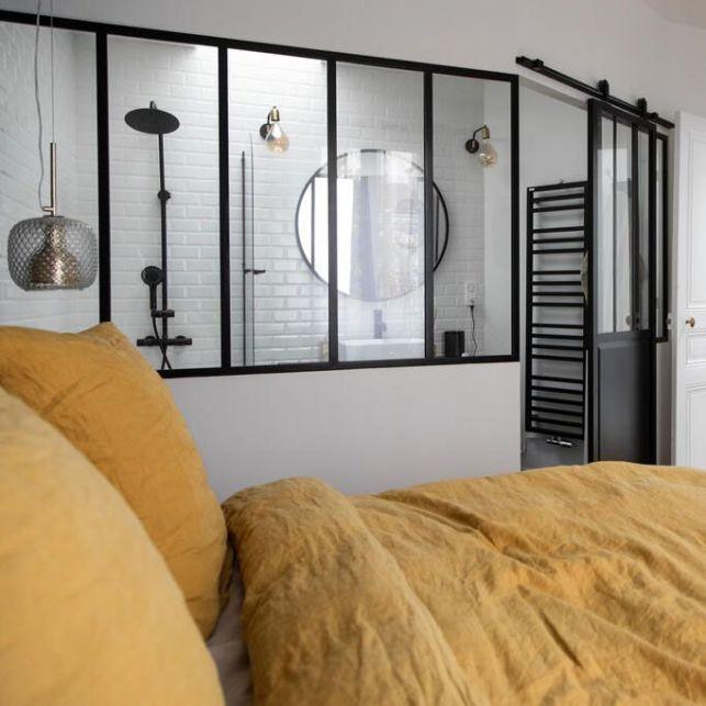 Optimiser l'espace dans la chambre parentale grâce aux verrières