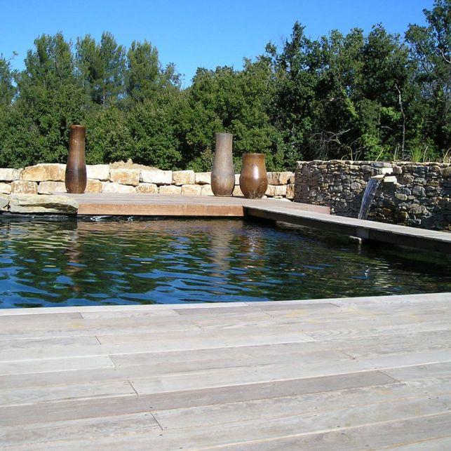 La piscine écologique s'adapte à votre budget et votre terrain.