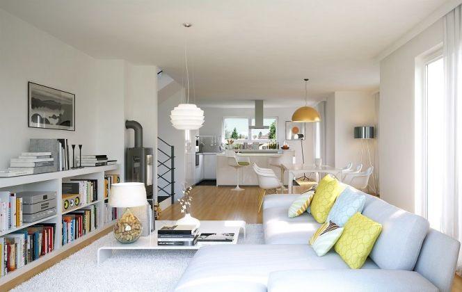 Plan intérieur d\'une maison : pièce par pièce