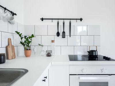 Plaque de cuisson vitrocéramique en panne