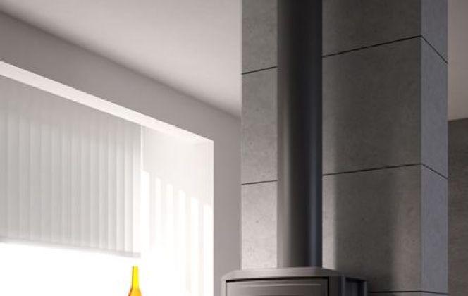 Cet élégant poêle garantira chaleur, confort et discrétion. © Seguin