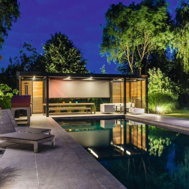 Un poolhouse sur-mesure et fonctionnel