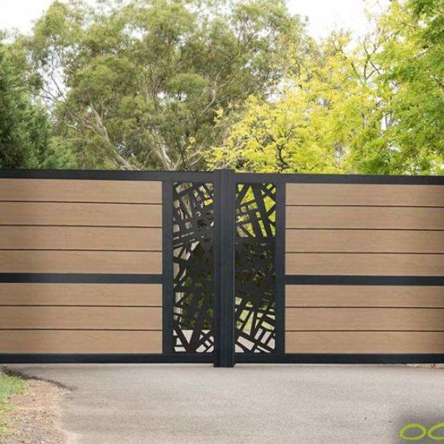 Faites le choix d'un portail moderne et écologique