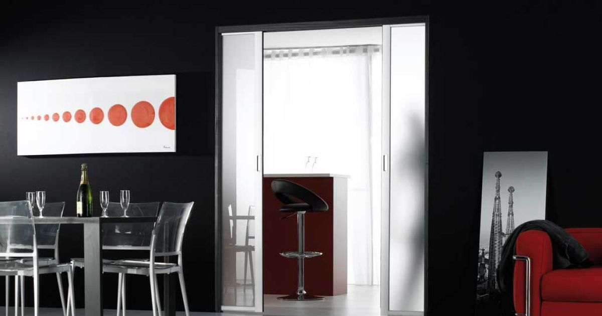 Porte coulissante par coulidoor - Remplacer porte par porte coulissante ...