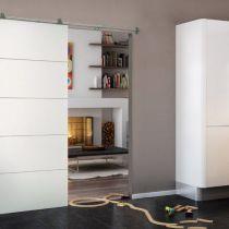 Produits la porte coulissante beaut pratique - Double porte a galandage interieur ...