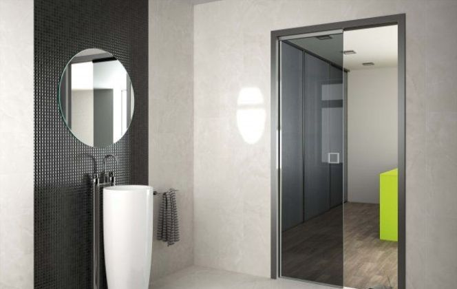 Porte coulissante Sogalslide® par Sogal © Sogal