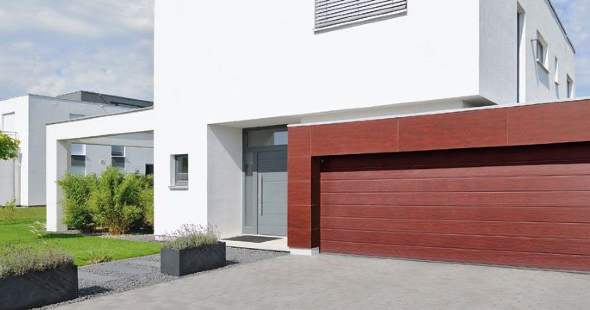 Porte de garage par h rmann for Achat porte de garage hormann