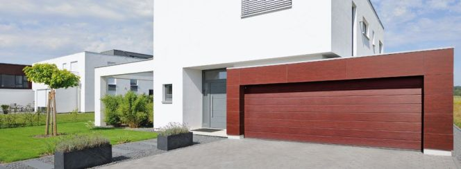 Portes de garage sectionnelles - Tous les fabricants de laposarchitecture