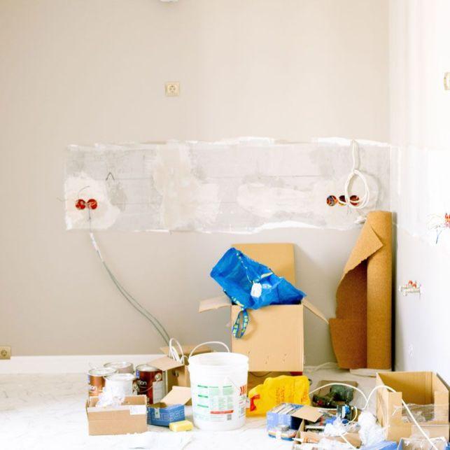 Préparer la pièce pour l'application de la peinture