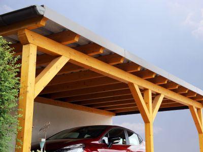 Prix d'un carport en bois