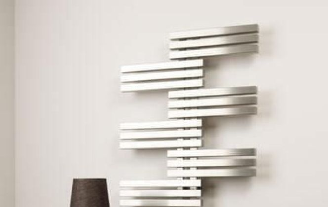 Ce radiateur tendance saura apporter une touche d'originalité en plus de sa chaleur à votre salon. © Aeon