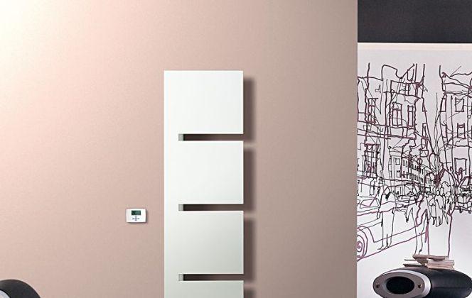Ce radiateur design se fondra à merveille avec votre déco intérieure. © Irsap