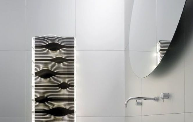 Ce radiateur design chauffera et illuminera parfaitement votre pièce. © Caleido