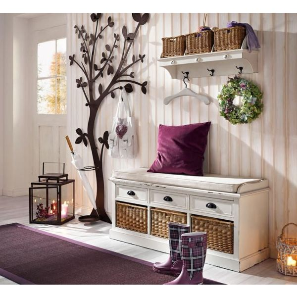 rangements et meubles pour l entr e d une maison. Black Bedroom Furniture Sets. Home Design Ideas