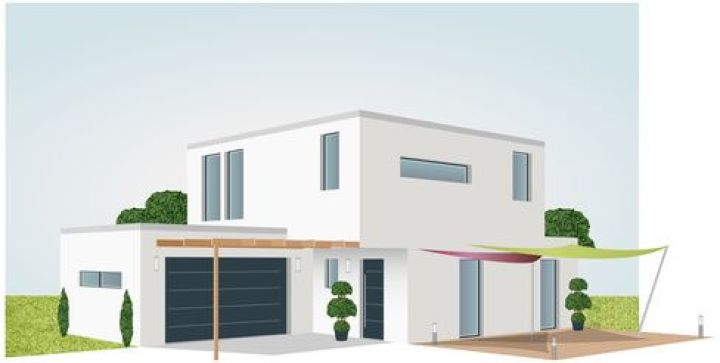 Plan Maison D Architecte Contemporaine Ooreka 8