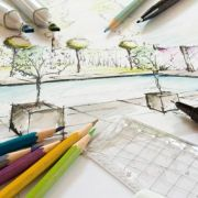 Réaliser les plans d'un jardin