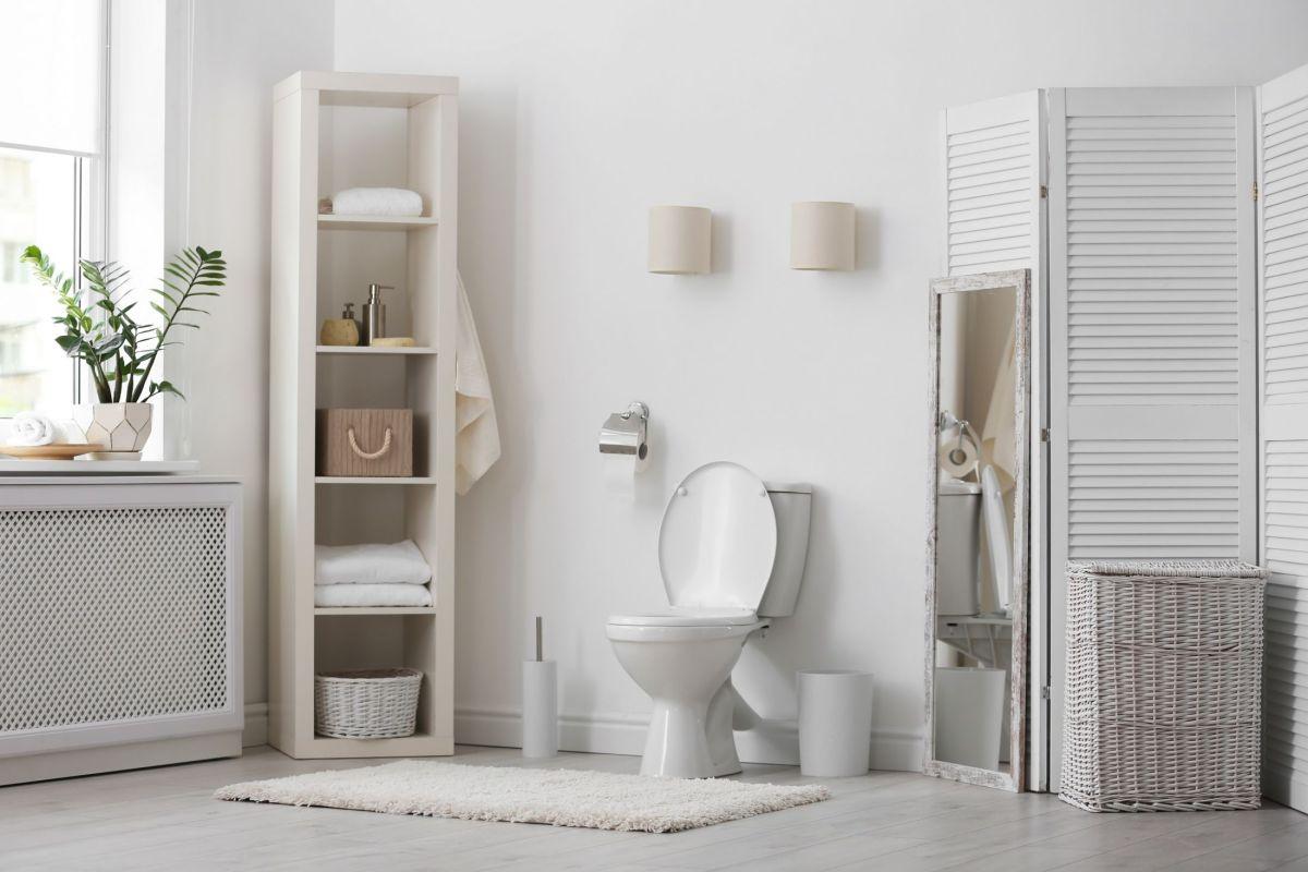 Salle De Bain Et Wc Dans Espace Reduit relooker des toilettes : conseils et idées