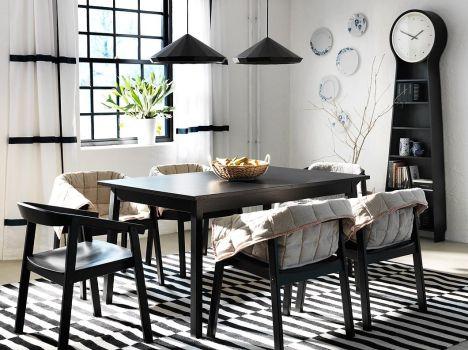 "Salle à manger moderne par Ikea<span class=""normal italic"">© Ikea</span>"
