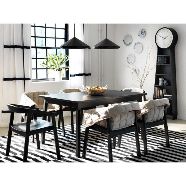 salle manger moderne par ikea. Black Bedroom Furniture Sets. Home Design Ideas