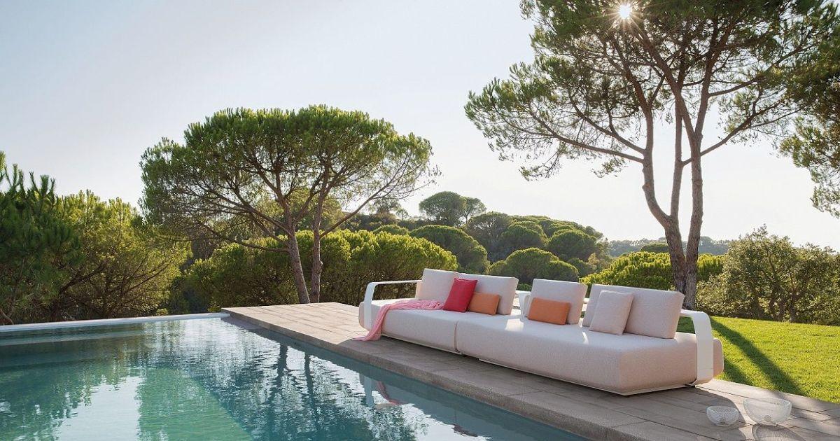 Salon d 39 ext rieur par minotti luxe et design dans votre for Salon d exterieur