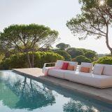 Salon d'extérieur par Minotti