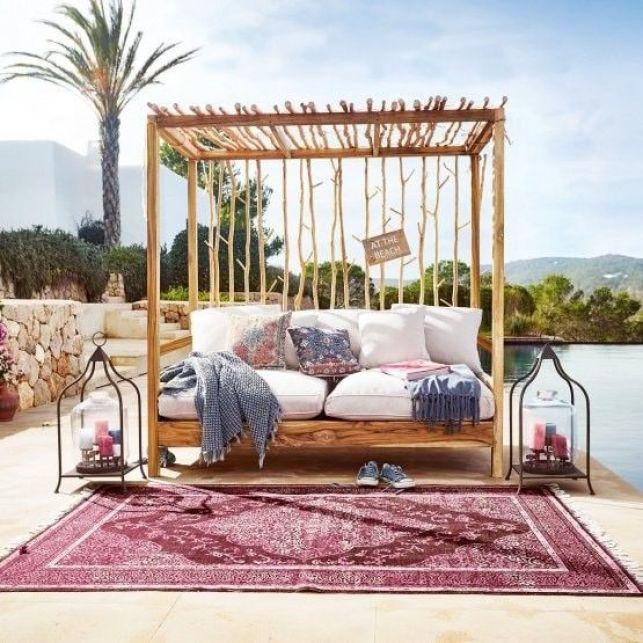 Un canapé-lit confortable et idyllique