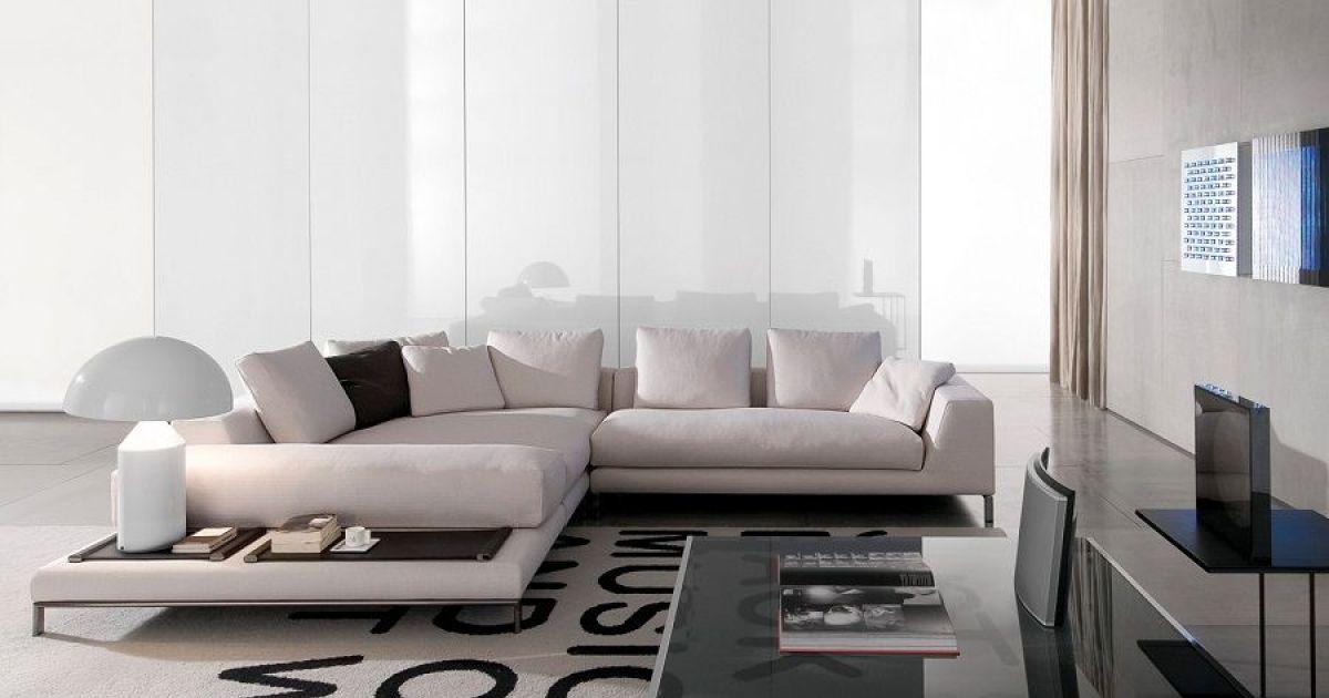 notre s lection de salons haut de gamme ce salon haut de gamme aux teintes noires et blanches. Black Bedroom Furniture Sets. Home Design Ideas