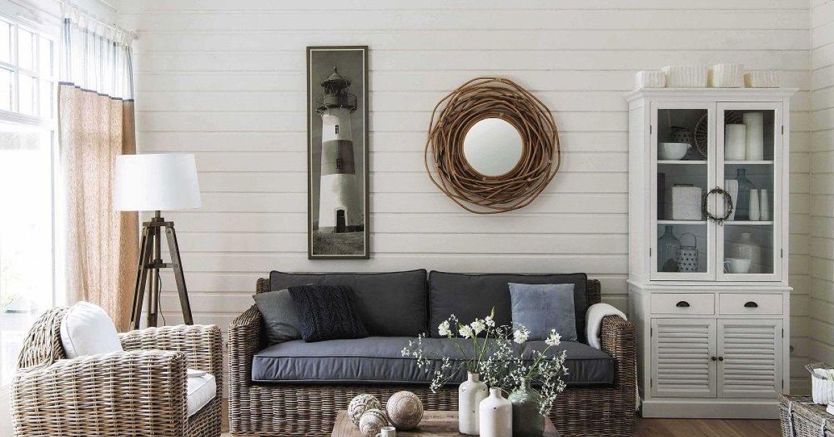 Salon kerguelen par maisons du monde - Flores artificiales maison du monde ...
