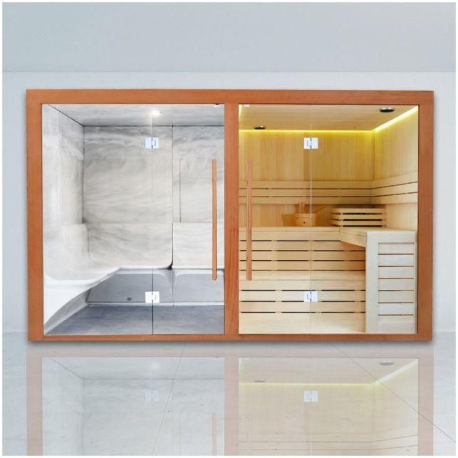 Le sauna hammam élégant et convivial