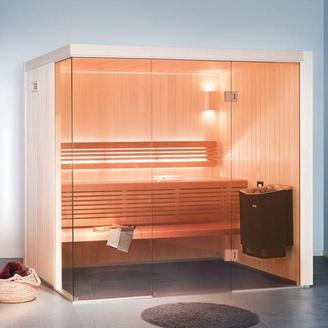 Le sauna humide élégant pour la salle de bain