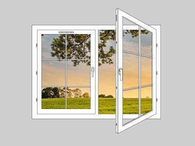 Prix d'une fenêtre en PVC par dimension