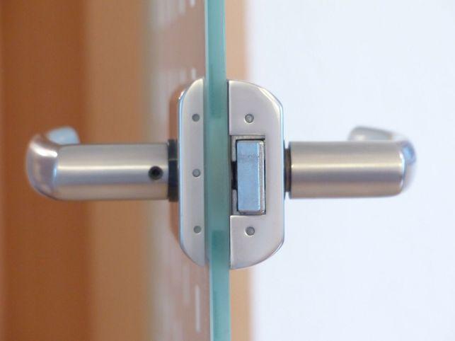 Schéma d'une serrure de porte