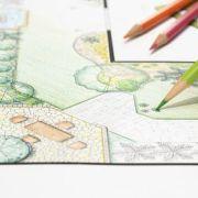 Schéma de plantation d'un jardin