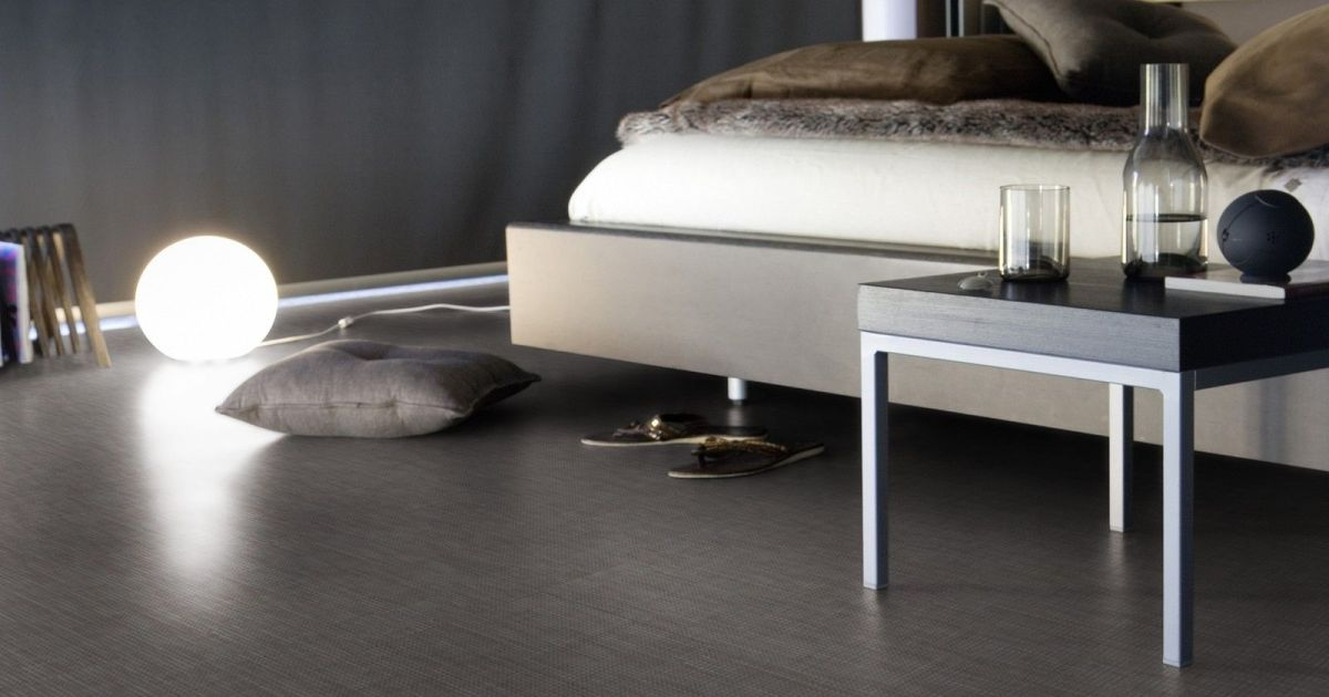 sol en vinyle par gerflor. Black Bedroom Furniture Sets. Home Design Ideas
