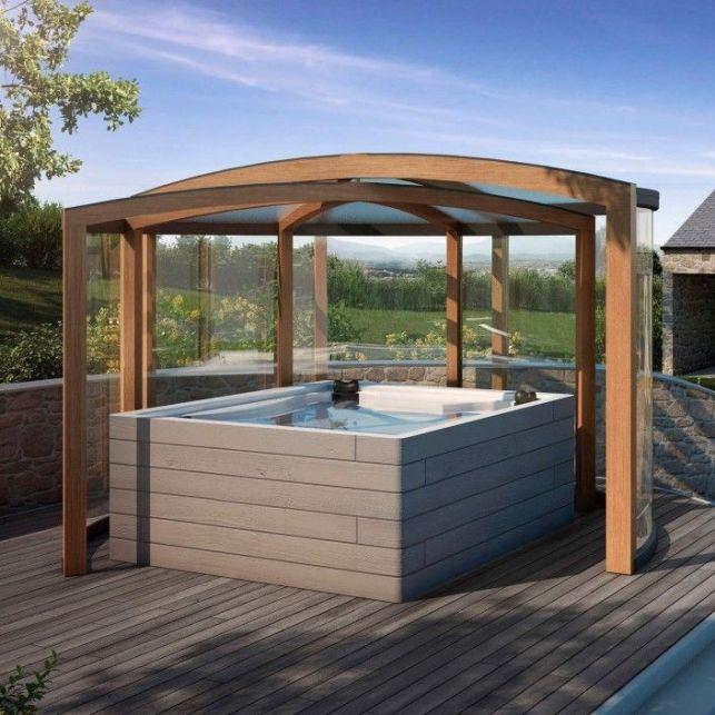 Profitez de votre spa toute l'année grâce aux abris