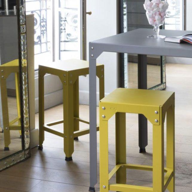 Ajouter de la couleur dans votre jardin grâce au mobilier jaune