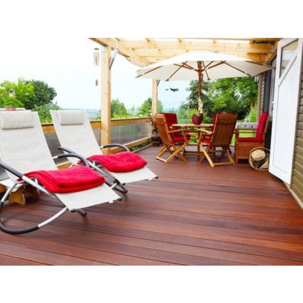 terrasse les diff rents mat riaux. Black Bedroom Furniture Sets. Home Design Ideas