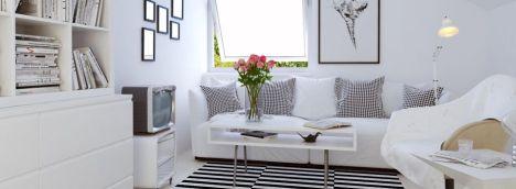 trucs et astuces pour d corer un petit appartement. Black Bedroom Furniture Sets. Home Design Ideas