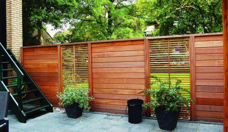 Types de clôtures