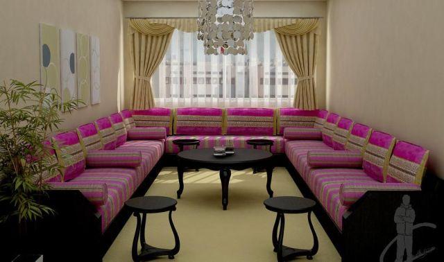 Un salon marocain : déco et mobilier